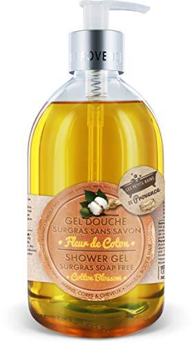 Les Petits Bains de Provence Gel Douche Fleur de Coton Pack de 6