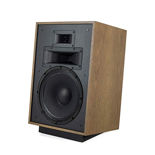 Best Deals! Klipsch Heresy IV Floorstanding Speaker in Black Ash Three-Way, Horn-Loaded Speaker with...