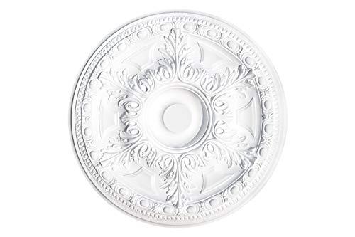 1 Deckenrosette | Innendekor | Polystyrol | Decora | 59cm | DR17