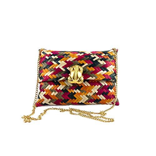 Brand MiLinda Artesanales - Bolso de mano de diseño - Bolso de mano en Colombia, color Multicolor, talla Small