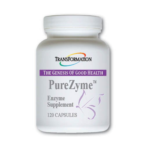 Transformation Enzymes Purezyme, Assists The Body in Maximum Digestion of Nutrients,Production of Energy, and Aid in Immune Support,- 120 Capsules