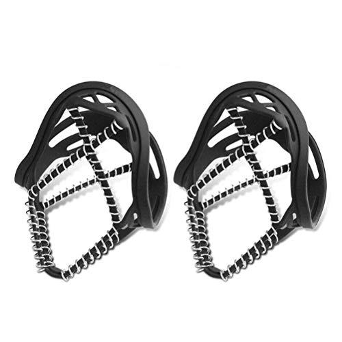 Tixiyu 1 par de agarres antideslizantes para zapatos de nieve y hielo,...