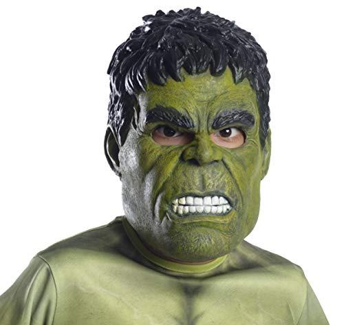 Rubie's Marvel: Avengers Endgame Hulk 3/4-Máscara Infantil