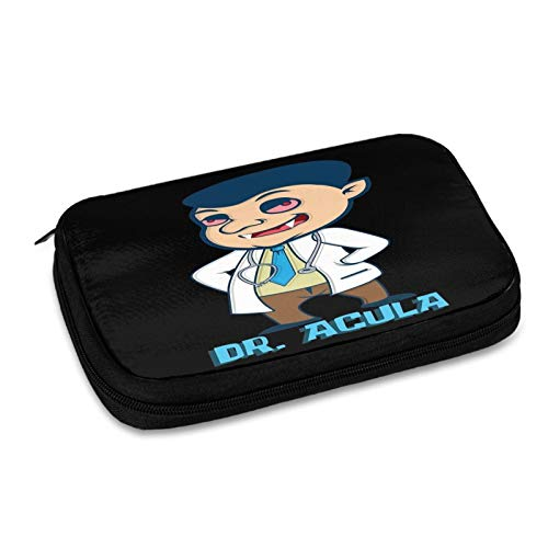 Halloween Dracula Vampire Doctor Humor Job Gift Electronic Organizer Travel Cable Organizer Cases Electronics Accessories Storage Bag for USB,Sd Cards,Chargers