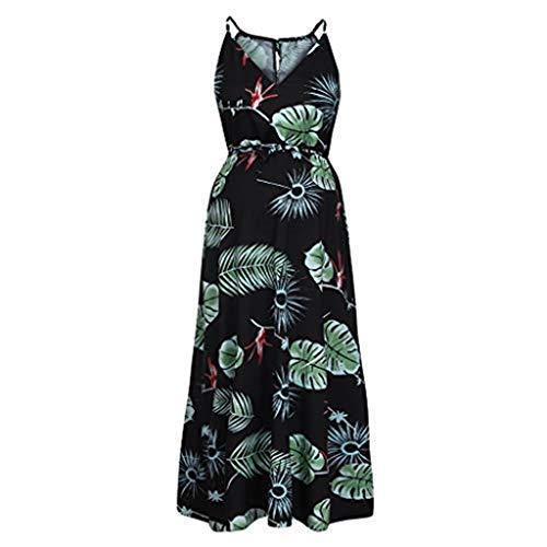 pitashe Damen Umstandskleid Schwangerschaft Kleid Umstandsnachthemd Stillnachthemd Ärmellos Stillkleid für Schwangere und Stillzeit Stillshirt