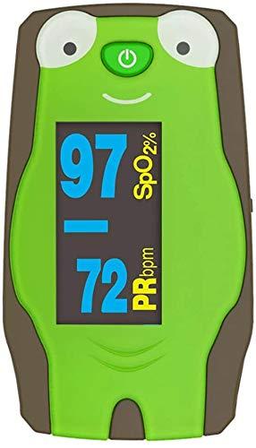 KQBAM Oximeter Fingertip Oximeter-Blut-Sauerstoffmessgerät Mit Batterie Und Lanyard Inklusive Leichte Und Tragbare Herzfrequenz Pulsoximeter