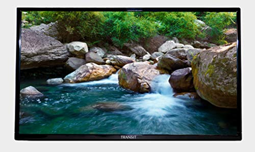 Free Signal TV Transit 32' 12 Volt DC Powered LED Flat Screen HDTV for RV Camper and Mobile Use