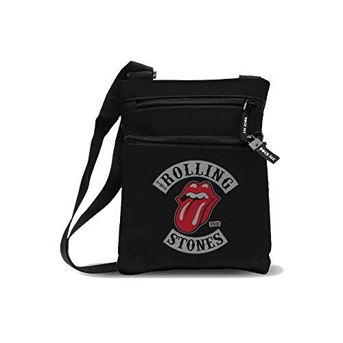Rolling Stones Stones 1978 Tour Umhängetasche, Medium, Black