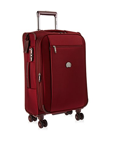 DELSEY Paris Spinner Suitcase, Bordeaux Red, One Size