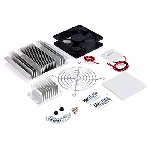 NewIncorrupt Exquisito 1pc DC 12V Metal Peltier Semiconductor Enfriador DIY Kit para sistema de aire acondicionado de refrigeración