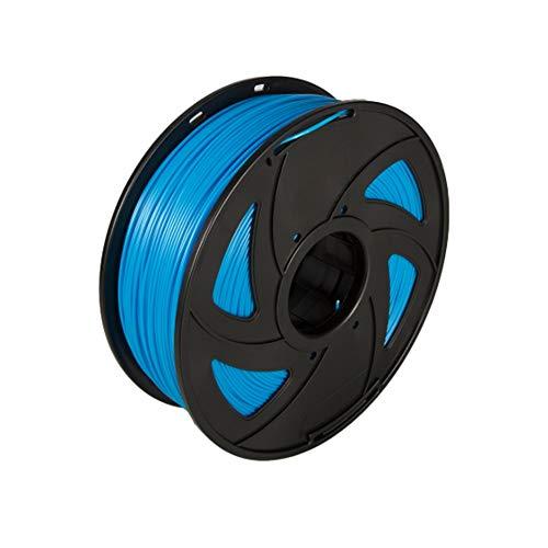 NO LOGO WSF-3D Prints, 1pc PLA Plastique for 3D Printer 1.75mm 1KG Spool Nylon Filament Consommables d'impression Matériaux 3D (Couleur : Blue)
