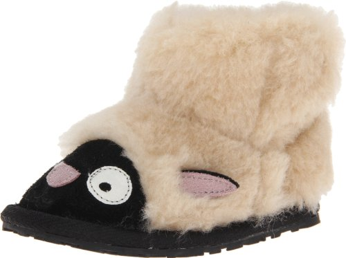 EMU Australia LC Walker Lamb Boot (Infant/Toddler/Little Kid/Big Kid),Natural,18-24 Months M US Infant