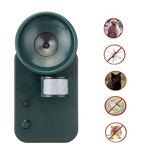 Solar Pest Repeller, Tier Pest Maus Repeller Outdoor Ultraschall PIR Sensor Garten Vogel Katze Hund Repellent Tiere Fernhalten