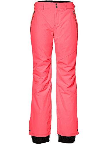 O'Neill Damen Snowboard Hose Streamlined Pants, neon Tangerine pink, S