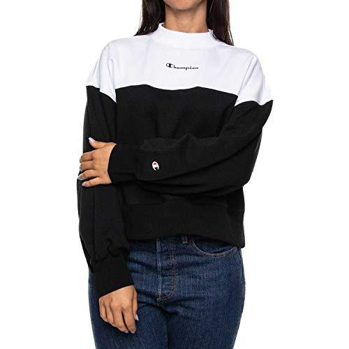 Champion - Sudadera para mujer, Mujer, chaqueta de chándal, 111892, blanco, extra-large