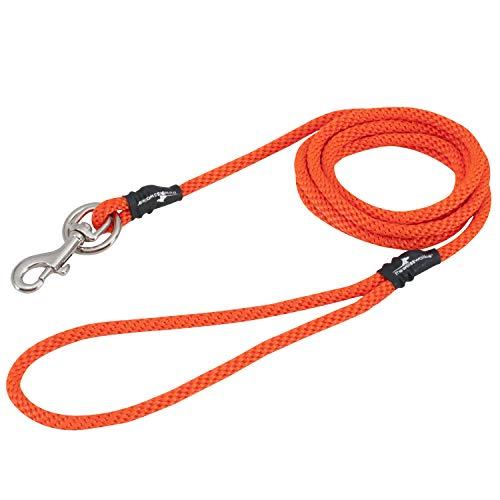 Love2Pet Hundeleine ohne Ziehen, klein, Orange (094922392756)