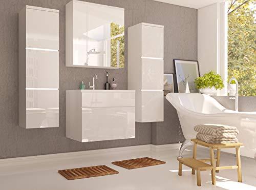 Badmöbel Set Porto  Waschbecken  Siphon kaufen  Bild 1*
