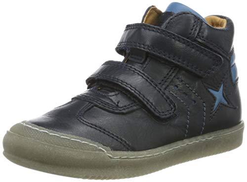 Froddo G3110127, Zapatillas Altas para Niños, Azul (Dark Blue I17), 25 EU