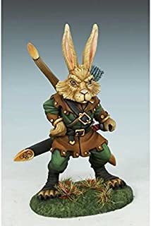 Rabbit Warrior Miniature Critter Kingdoms Dark Sword Miniatures