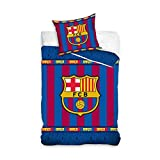 Duvet Cover Set FC Barcelona Single Twin Bed Cotton 140 x 200 cm Barsa Official