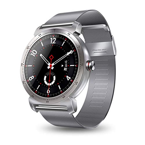 JingJingQi Smart Watch K88h Plus Smart Watch hd Display hartslagmeter stappenteller fitness tracker voor mannen smartwatch verbonden voor Android en iPhone