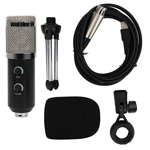 Micrófono, micrófonos de condensador Captura la voz correctamente Amplias aplicaciones Excelente experiencia para computadora