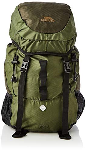 Trespass Circul8 Sac à Dos Mixte Adulte, Vert Olive