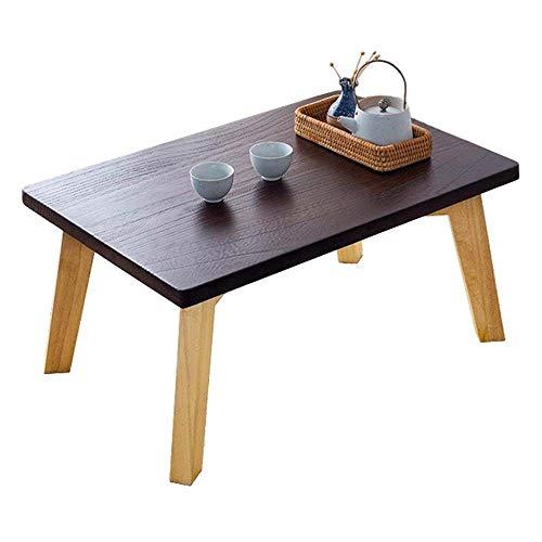 Lamyanran in massello Tavolino Stile Giapponese Tavolino Bovindo Tavolo Rettangolare Balcone Zen Tavolo tè Piccolo Tavolino Basso Table (Dimensioni: 60 * 40 * 30)