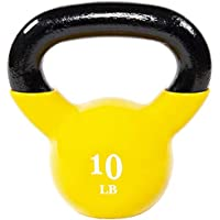 Everyday Essentials All-Purpose Color Vinyl Coated Kettlebell