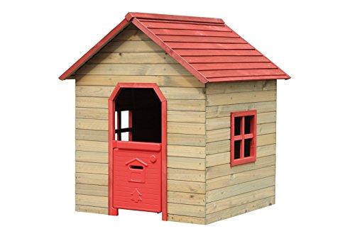 Casetta fantasy per bambini rossa Misura: 120x125x140h Marchio: garden friend.