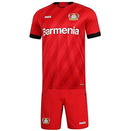 JAKO Bayer 04 Leverkusen Minikit Home Set 2019 2020 Kinder Fußball Heim Trikot Shorts rot Gr 116