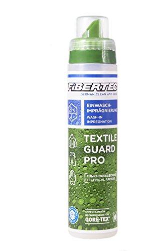 Fibertec Textile Guard Pro Wash-In Imprägniermittel, transparent, 250 ml