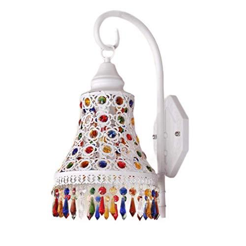 La nueva y modernapared de cristal con estilo Clásico Deluxe Creativo Linternas colgantes Lámpara de pared Arte interior Iluminación decorativa Iluminación de pared para pasillos Barras Enchufe E27