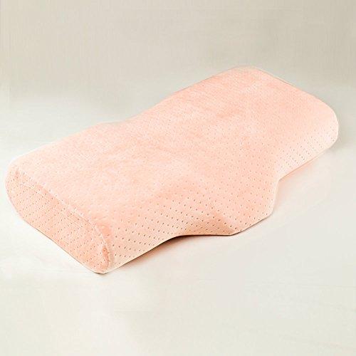 Nackenkissen Rückenlage Wimpernverlängerung Kosmetik Lashes Kissen Polster für Kunden (Baby Pink)