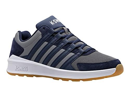 K-Swiss Herren Vista Trainer Sneaker, OUTERSPC/WHT/Gum, 40 EU