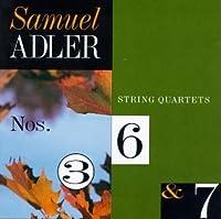 String Quartets 3,6 & 7
