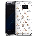 DeinDesign Coque en Silicone Compatible avec Samsung Galaxy S7 Edge Étui Silicone Coque Souple...