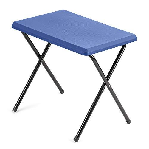 Small Folding Camping Table, Lightweight Compact Portable, Non-Slip Surface, Outdoor Picnic, Barbecue, Beach, Garden, Caravan