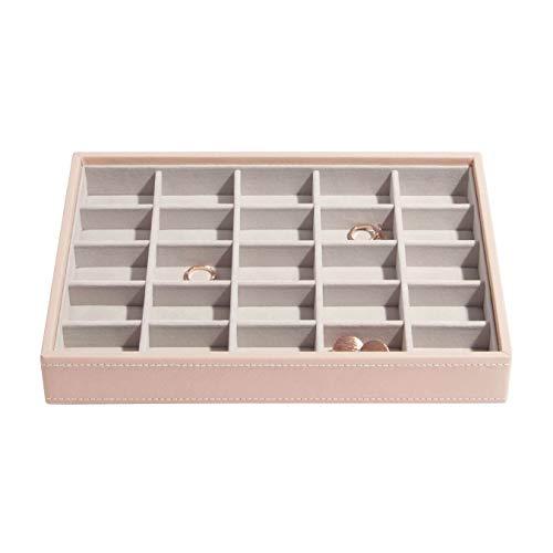 Stackers Blush Classic Medium Jewellery Box Trinkets Layer