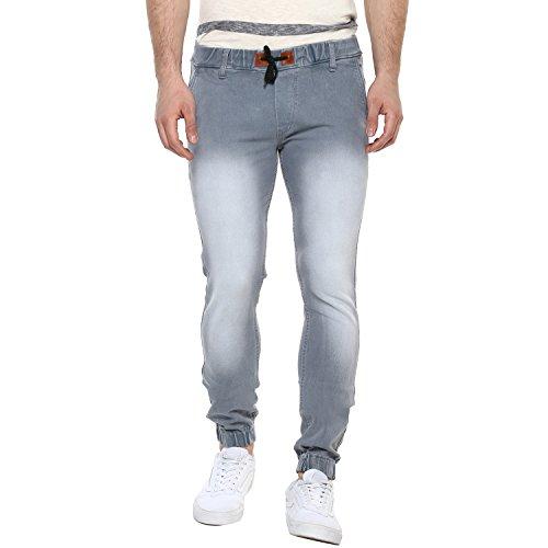 Urbano Fashion Men's Slim Fit Jeans (hpsjogger-lgrey-32-fba_Grey_32)