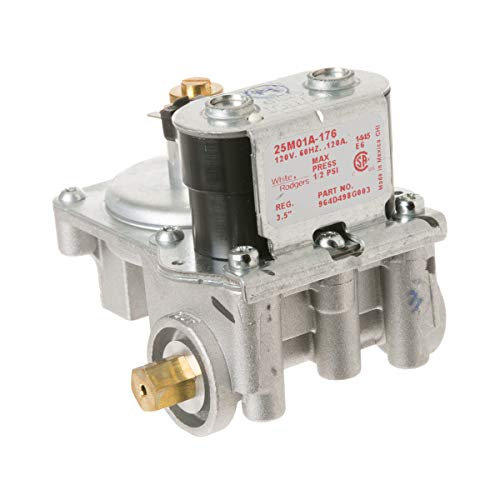 GE WE14X215 Genuine OEM Shutoff Valve Assembly for GE Gas Dryers