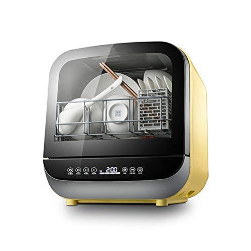 Mini Lavavajillas, Independiente, Instalación-Libre, 360 ° De Lavado, 3 Programas, Touch Control, Consumo De Agua: 5 litros - [Energética A]