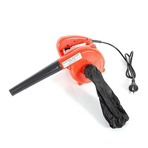 Berkalash Soplador de polvo eléctrico de 1000 W, soplador de hojas, aspirador...