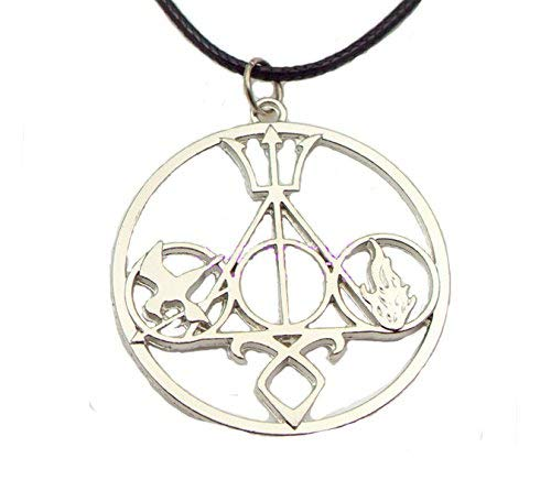 Jzmfashions - Ciondolo motivo Divergent, Potter, Percy, Mockingjay, Mortal Instruments