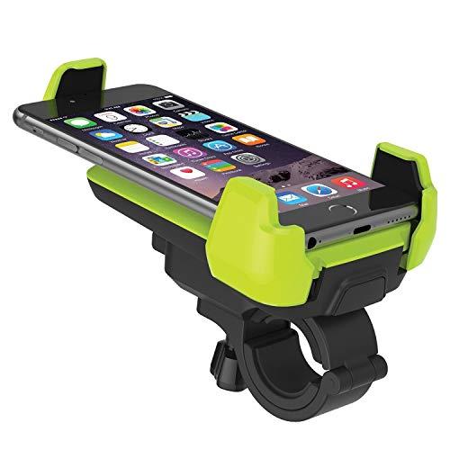 Soporte de fijación para teléfono móvil de bicicle Soporte Universal de Bicicletas Soporte for teléfono rotación de 360 Grados de 4,7 a 6 Pulgadas de Apple iPhone/Samsung/Galaxy/Huawei/Xiaom