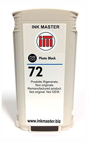 Ink Master - Remanufactured Cartridge HP 72 HP72 C9370A Photo Black for HP T610 T620 T770 T790 T795 T1100 T1110 T1120 T1200 T1300 T2300