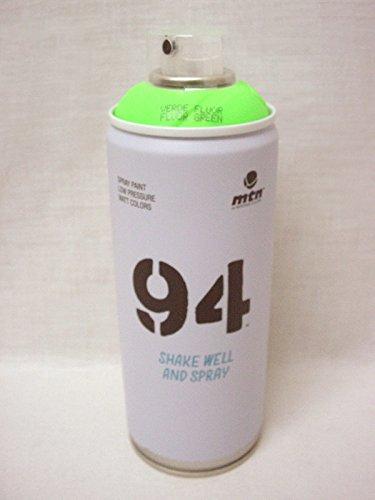 Montana MTN 94 Series 400ML FLUORESCENT GREEN Spray Paint