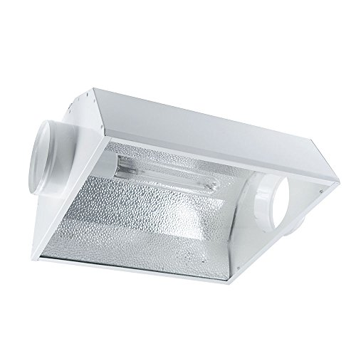 iPower 1000 Watt HPS MH Digital Dimmable Grow Light System Kits Air Cooled Reflector Hood Set