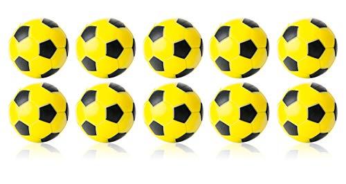 WINSPEED KICKERBALL by Robertson 35mm 10er Set (gelb-schwarz)