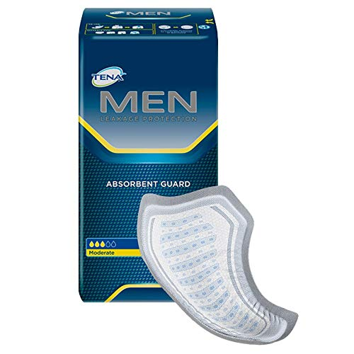 Tena for Men Guards, Case/120 (6 bags of 20)